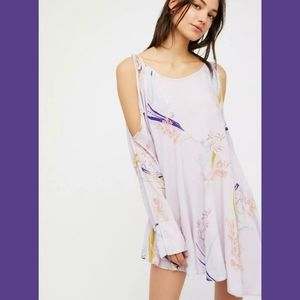 NWT Free People Lilac & Floral Clea…